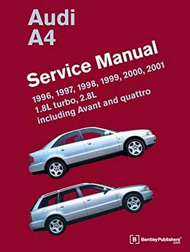 0837616751 audi a4 b5 service manual 1996 1997 1998. Black Bedroom Furniture Sets. Home Design Ideas
