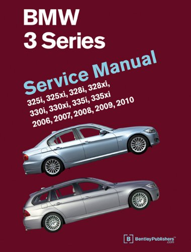 9780837616858: BMW 3 Series (E90, E91, E92, E93) Service Manual: 2006, 2007, 2008, 2009, 2010