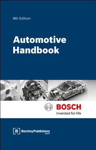 9780837616865: Bosch Automotive Handbook - 8th Edition