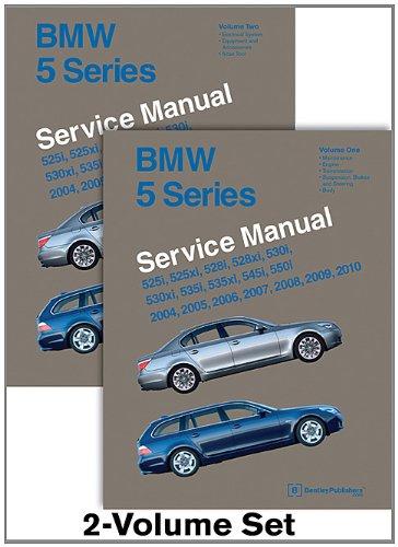 9780837616896: BMW 5 Series (E60, E61) Service Manual: 2004, 2005, 2006, 2007, 2008, 2009, 2010: 525i, 525xi, 528i, 528xi, 530i, 530xi, 535i, 535xi, 545i, 550i