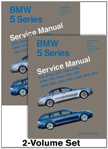 9780837616896: BMW 5 Series (E60, E61) Service Manual: 2004, 2005, 2006, 2007, 2008, 2009, 2010