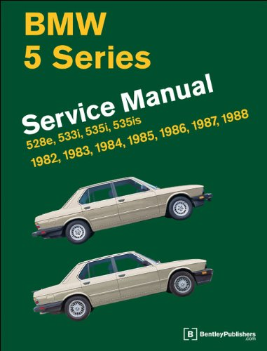 9780837616940: BMW 5 Series (E28) Service Manual: 1982, 1983, 1984, 1985, 1986, 1987, 1988
