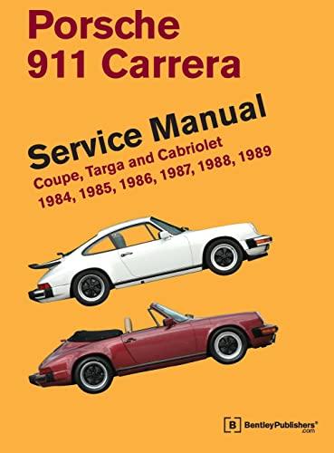 9780837616964: Porsche 911 Carrera Service Manual: 1984, 1985, 1986, 1987, 1988, 1989