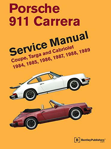 9780837616964: Porsche 911 Carrera Service Manual: 1984, 1985, 1986, 1987, 1988, 1989