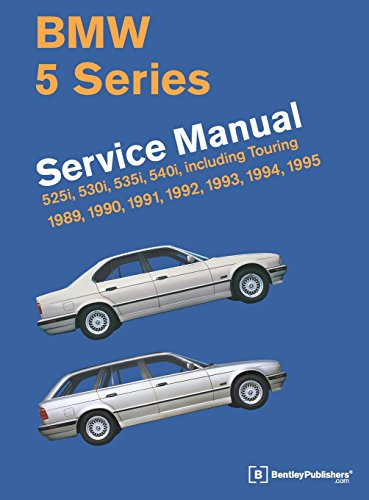 9780837616971: BMW 5 Series Service Manual: 1989-1995