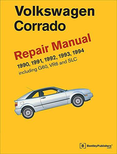 9780837616995: Volkswagen Corrado (A2) Repair Manual: 1990-1994