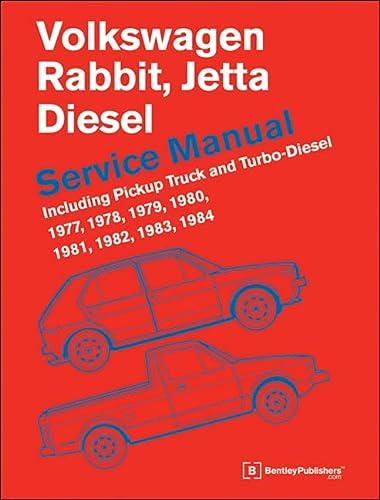 9780837617039: Volkswagen Rabbit, Jetta (A1) Diesel Service Manual: 1977, 1978, 1979, 1980, 1981, 1982, 1984, 1984