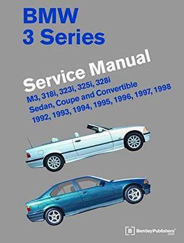 9780837617091: BMW 3 Series (E36) Service Manual 1992, 1993, 1994, 1995, 1996, 1997, 1998