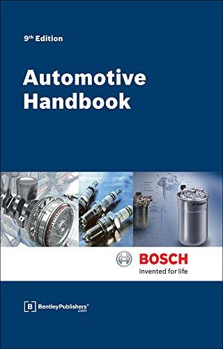 9780837617329: Bosch Automotive Handbook - 9th Edition