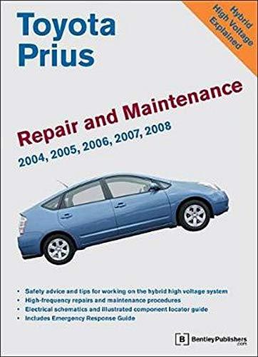 9780837617664: Toyota Prius Repair and Maintenance Manual: 2004-2008