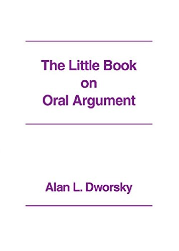 9780837705576: The Little Book on Oral Argument