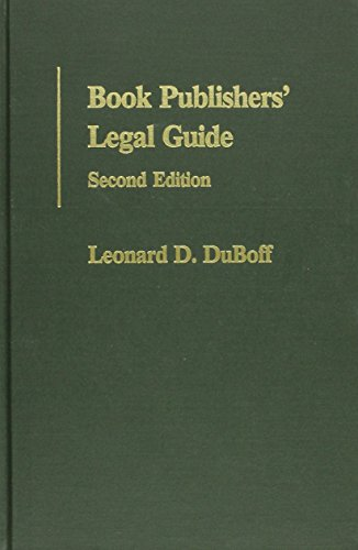 9780837705590: Book Publishers' Legal Guide