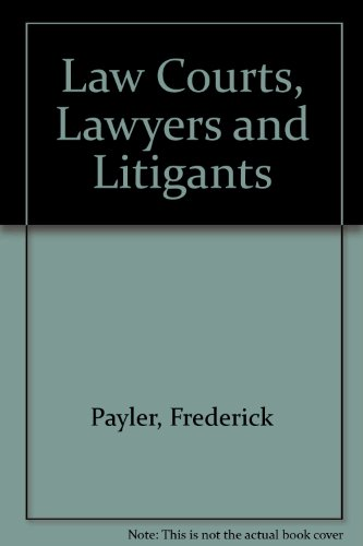 9780837710068: Law Courts, Lawyers and Litigants