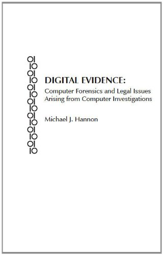 9780837716893: DIGITAL EVIDENCE: Computer Forensics and Legal Issues Arising from Computer Investigations