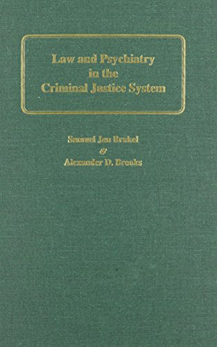 9780837730257: Law and Psychiatry in the Criminal Justice System
