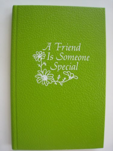9780837821016: A Friend Is Someone Special