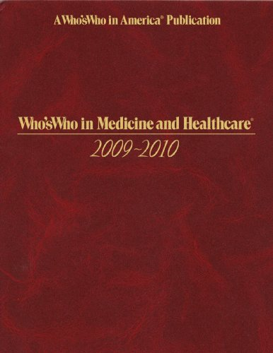 9780837900131: Whos Who in Medicine and Healthcare 2009 - 2010 -7th Edition (Who's Who in Medicine and Healthcare) (Who's Who in Medicine & Healthcare)
