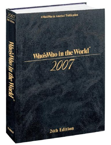 9780837911373: Who's Who In The World 2007