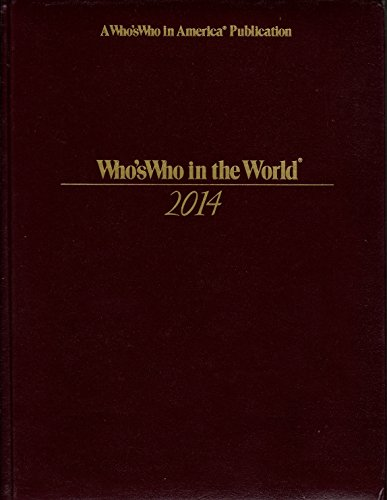 Who's Who in the World: 2014