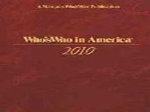 Who's Who in America: Who, Marquis Who's