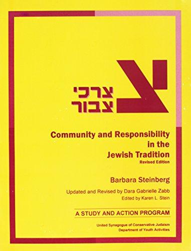 Tzorchei Tzibbur: Community and Responsibility in the Jewish Tradition (Paperback): Dara Gabrielle ...