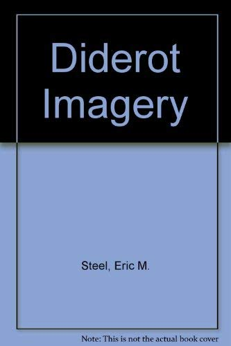 9780838306284: Diderot's Imagery: A Study of a Literary Personality