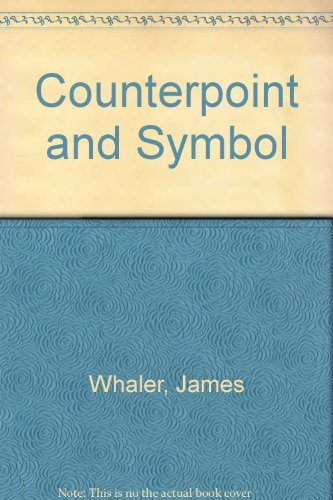 Counterpoint and Symbol: An Inquiry into the Rhythm of Milton's Epic Style: Whaler, James