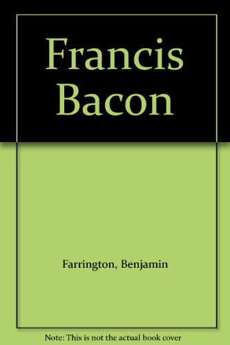 9780838316856: Francis Bacon