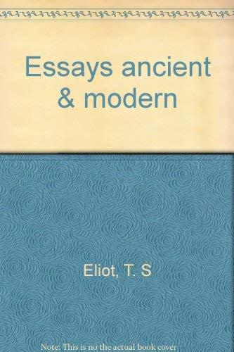 9780838320570: Essays ancient & modern