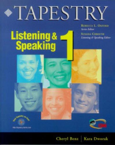 9780838400098: Tapestry Listening & Speaking 1