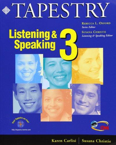 9780838400173: Tapestry Listening & Speaking 3 (Student Book & Audiocassette Package)