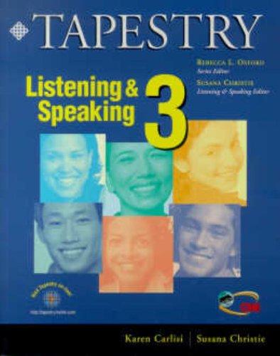 9780838400234: Tapestry Listening & Speaking 3