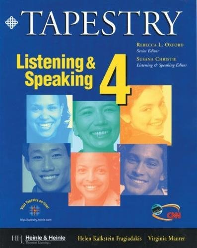 9780838400241: Tapestry Listening & Speaking 4 Text/Audio Tape Package