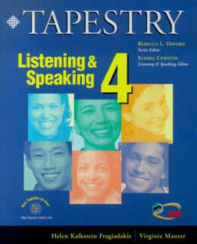 9780838400296: Tapestry Listening & Speaking 4