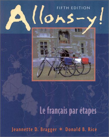 9780838402443: Allons-y! Le Français Par étapes, 5th Edition