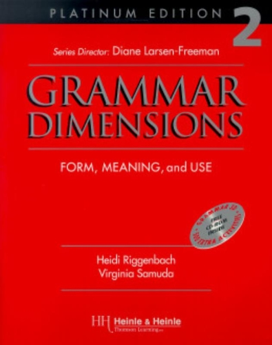 9780838402689: Grammar Dimensions 2, Platinum Edition: Form, Meaning, and Use