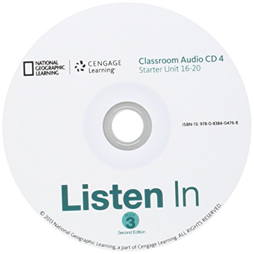 9780838404768: Listen In, Book 3, Classroom Audio CDs