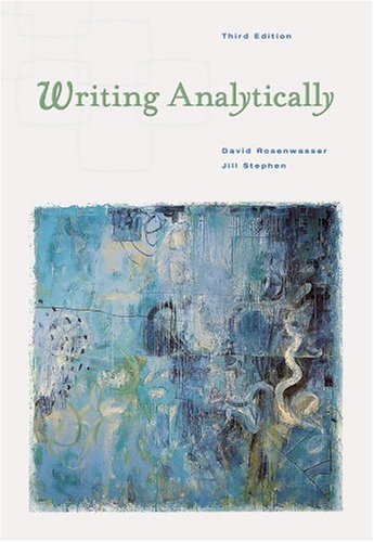 9780838405093: Writing Analytically (with InfoTrac)