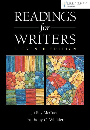 9780838405468: Readings for Writers (with InfoTrac)