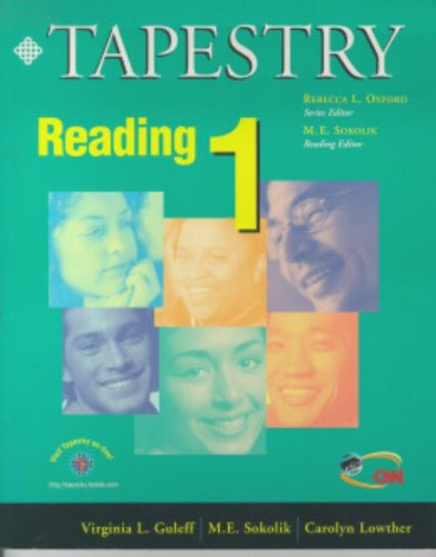 9780838405680: Tapestry Reading 1