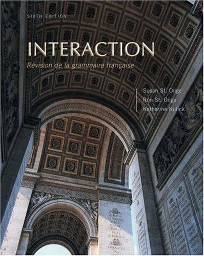 9780838406021: Interaction: Revision de grammaire française (with Audio CD)