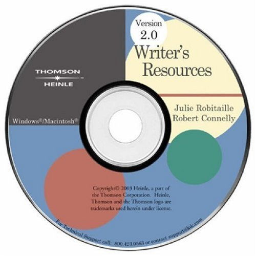 9780838406748: Writer's Resources CD-ROM 2.0 iLrn Version (Available Titles CengageNOW)