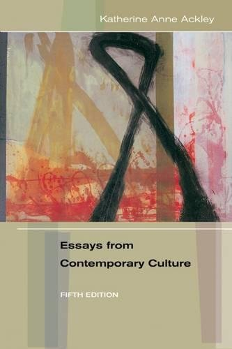 9780838406779: Essays from Contemporary Culture, 5th Edition