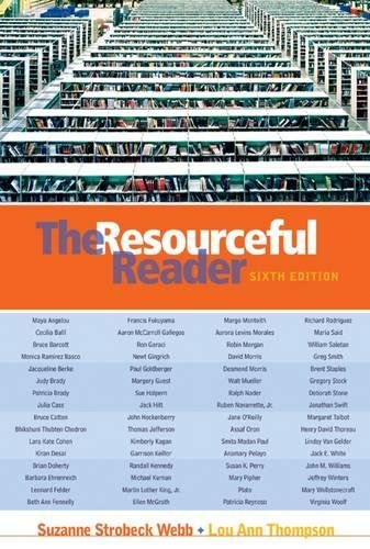 9780838407790: The Resourceful Reader