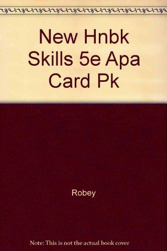 New Handbook of Basic Writing Skills with APA Update Card: Robey, Cora L., Maloney, Helen M., ...