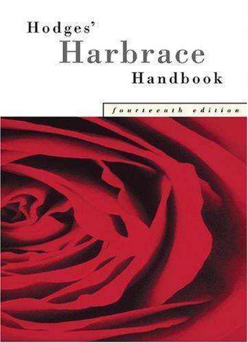 9780838408414: Hodges' Harbrace Handbook With APA Update Card
