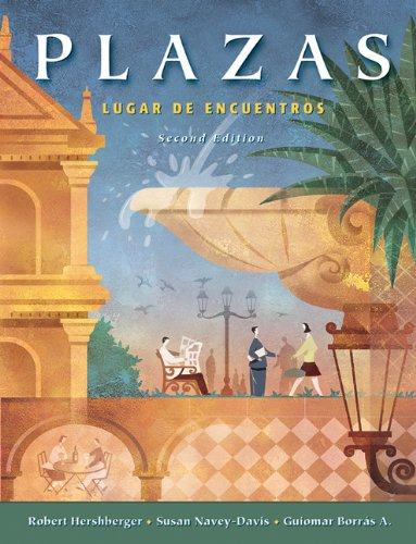 9780838408520: Plazas: Lugar de encuentros (with Audio CD's) (Available Titles CengageNOW)