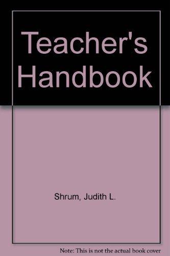 9780838408797: Teacher's Handbook, 2/E: Contextualized Language Instructor