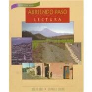 9780838409343: ABRIENDO PASO LECTURE REVISED TEXTBOOK 2000C
