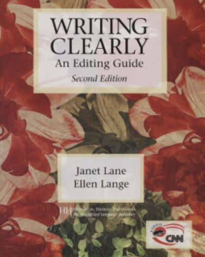 9780838409497: Writing Clearly: An Editing Guide